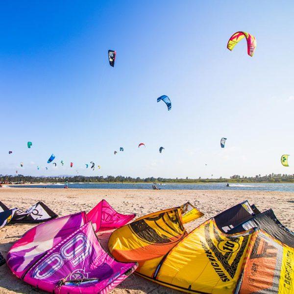 Kitesurf en Brasil Rasta North