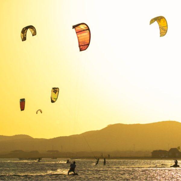Kitesurf en Cabo de la Vela, Colombia