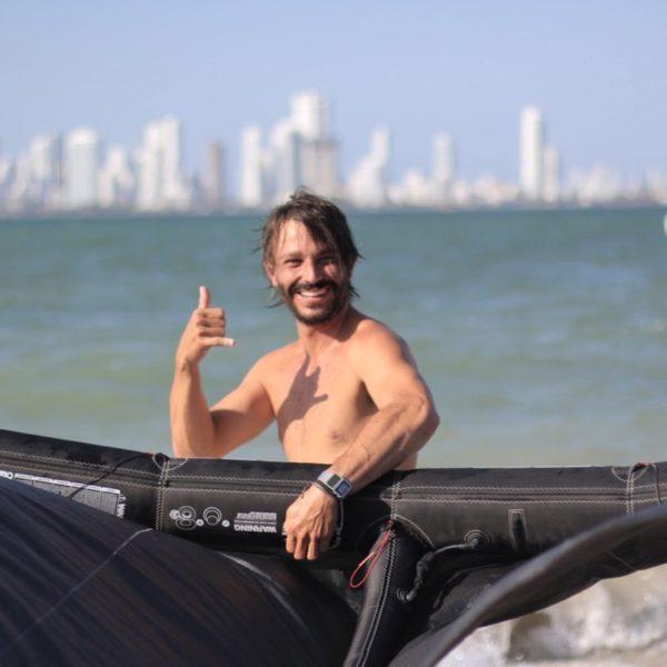 Kitesurf en Cartagena, Colombia