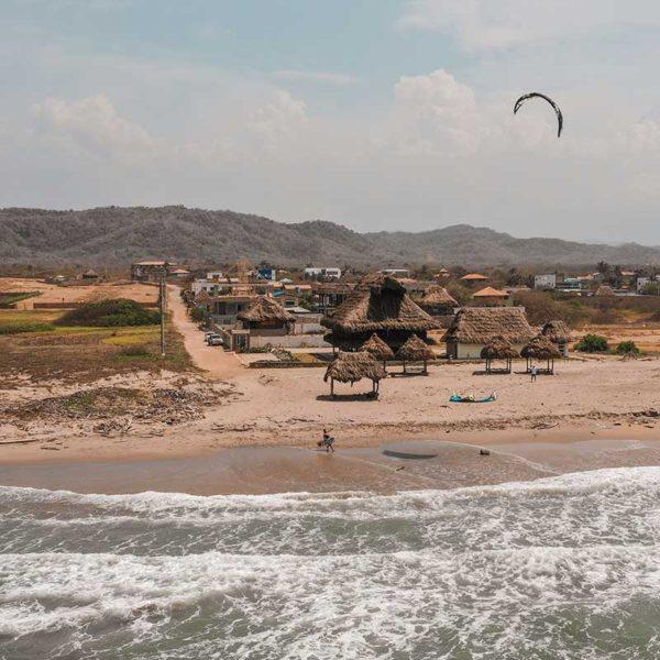 Kitesurf en Salinas del Rey
