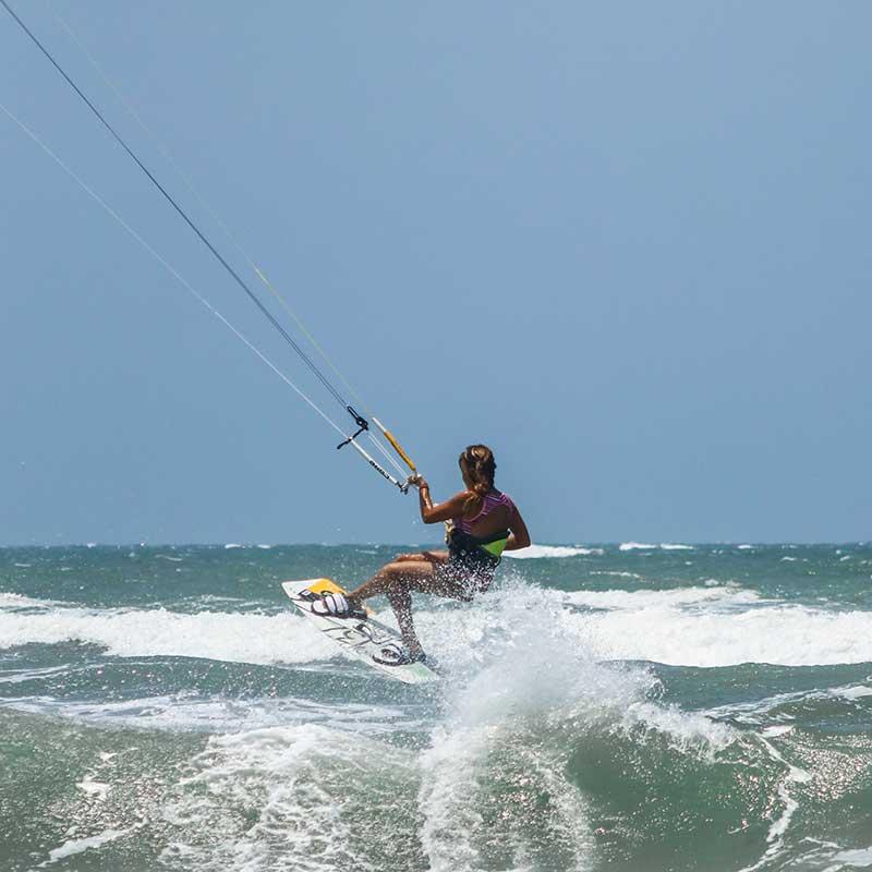 Kitesurf en Salinas del Rey Colombia