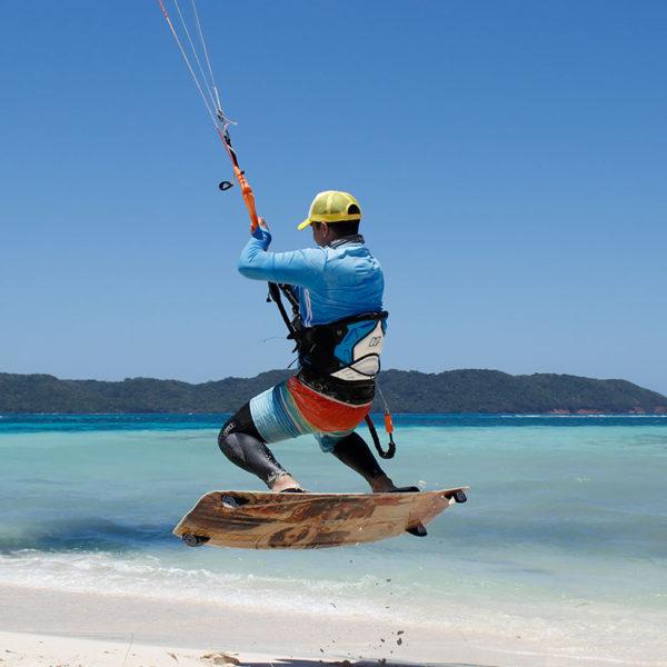 Kitesurf en Roatan Honduras
