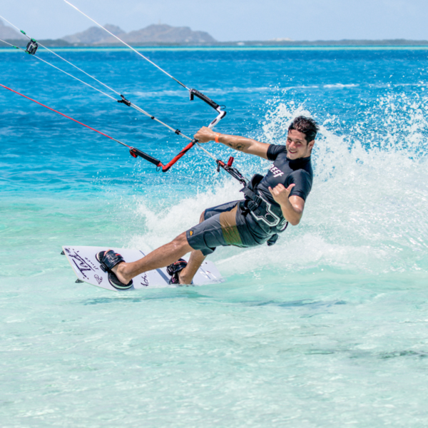 Kitesurf en Los Roques, Venezuela