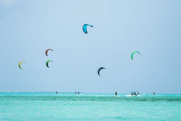 Kite Safari Los Roques Venezuela downwind