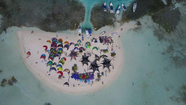 Kite Safari Los Roques Venezuela kite camp